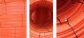 Tubo de polietileno de alta densidad