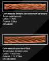 Cable para sistema pararrayos