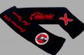 Bufandas doble con 3 colores y logotipo
