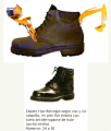 Zapato tipo Borcegui