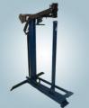Engrapadora mecánica de poste