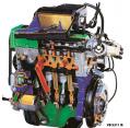 Motor de Gasolina Seccionado