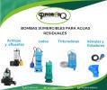 BOMBAS PARA TRATAMIENTO DE AGUAS RESIDUALES
