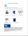 Monitores de la dureza del agua OFS;