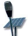 Alumbrado público solar.
