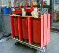 Transformador seco encapsulado de media y baja tensión