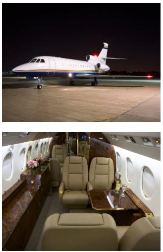 Pedido Falcon 900 Aeronaves en renta