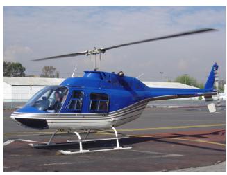 Pedido Bell 206 JR Aeronaves en renta