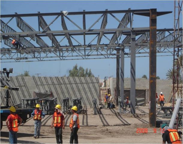 Pedido Fabricacion y montaje de construciones metalicas
