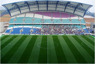 Pedido Servicios de construcción de campos de fútbol