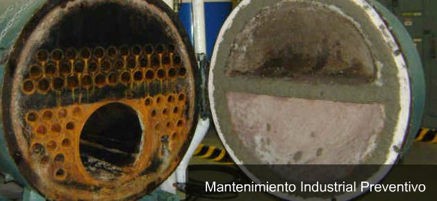 Pedido Mantenimiento de calderas industriales