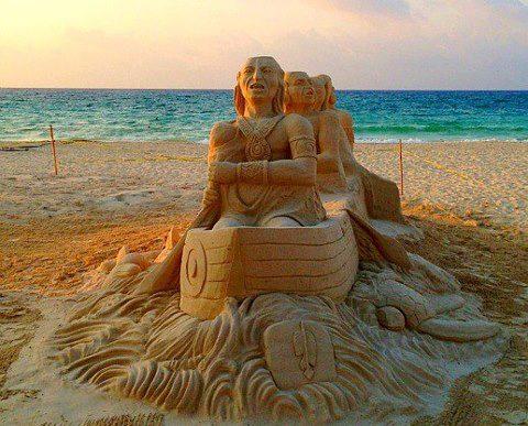 Pedido Esculturas de arena