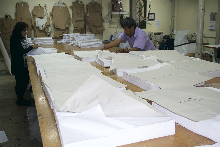 Pedido Acabados, impresión y bordados