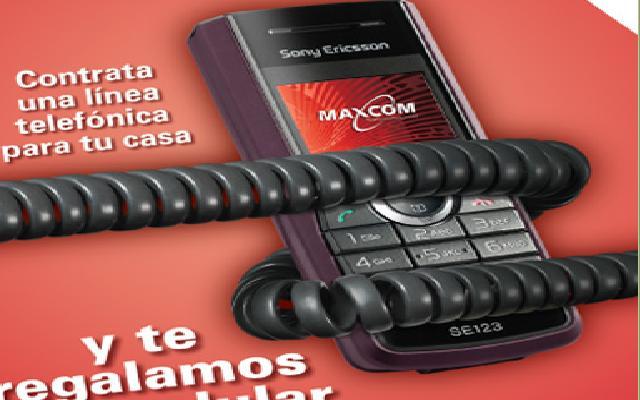 Pedido Maxcom Cel