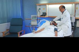 Pedido Inhaloterapia. Ventilación necánica