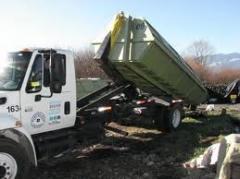 Recolección de desperdicios industriales