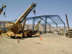 Construcción de plantas industriales.