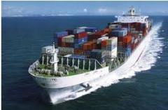 Servicios de transporte marítimo