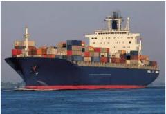 Servicios de transporte maritimo
