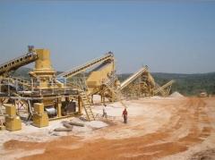 Soluciones integrales para extracción y procesamiento (molienda) de minerales no metálicos