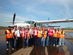 Servicio de taxi aéreo