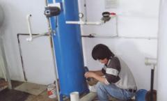 Mantenimiento a suavizador e intercambiador de calor