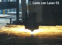 Corte con laser