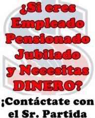 ¡Préstamos a Pensionados, Jubilados, Empleados en Culiacán!