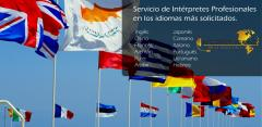 Servicio de Interpretación Simultánea y Consecutiva.