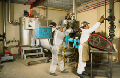Destilación de solventes gastados
